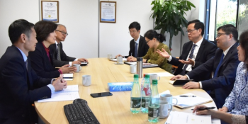 Deputy director of the General Administration of Customs of China visited CCIC France img